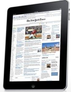 l'iPad Apple